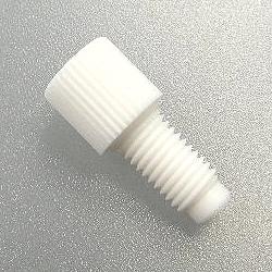 PTFE Plug flat bottom f. 1/4-28