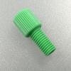 "Nut, Delrin, green f. 1/8"" tubing"