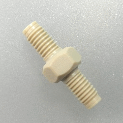 Fitting, Adapter Union, Peek
