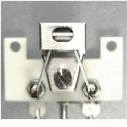 Repair tungsten ribbon filament Delta E