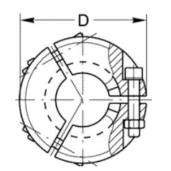 KF Metal Seal Clamp DN 50