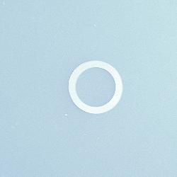 Silver gasket OD=21.3mm, ID=16.0mm