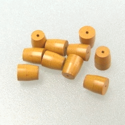 "1/16"" Vespel Ferrule, ID=0.4 mm, Set=10"