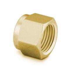 """Nut 1/8"""", Brass"""