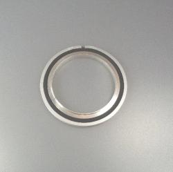 Trapped Cent. Ring w. O-Ring Al/Vi DN 63