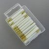 Glass fiber eraser replacements, Set=25