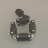 KF Chain Clamp DN25, Plastic, HT,max. 100 Grd C