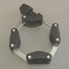 KF Chain Clamp DN40, Plastic, max. 60 Grd C