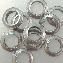 Graph. O-Ring f. Agilent 6.35mm liner, 10/pk