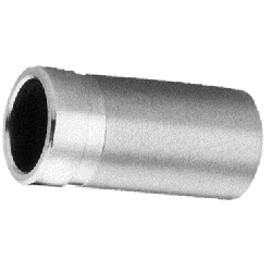 """XOA adapter for vacuum Convoluted, 304 stainl.steel, 1"""" pipe"""