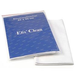 Cotton cleaning cloth, 100% jersey cotton 10pck Elix®