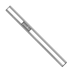 Liner, deact. 6.35x4x78.5mm spl/splitl/wool p., 5/pk