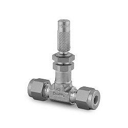 "Fine metering valve, straight, 1/8"", stainl. steel"