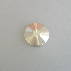 KF Blank Flange DN10, Aluminium