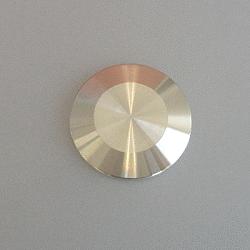 KF Blank Flange DN 25, Aluminium