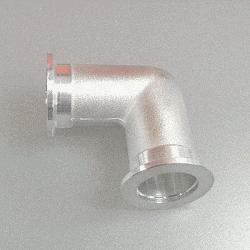 KF Elbow 90 grd, DN 16, Aluminium