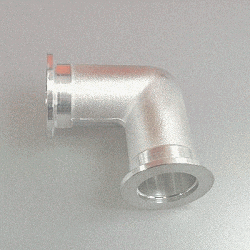 KF Elbow 90 grd, DN 40, Aluminium