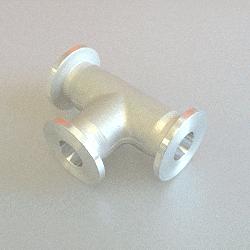 KF Tee DN 10, Aluminium