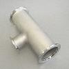 KF Reducer Tee DN 40/40/25, stainl. steel