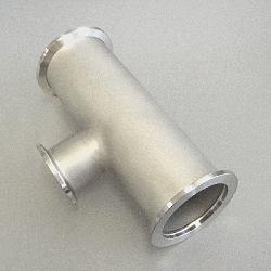 KF Reducer Tee DN 50/50/25, stainl. steel