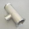 KF Reducer Tee DN 50/50/16, stainl. steel