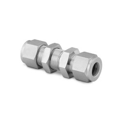 "Bulkhead Union 1/4"", stainl. steel"