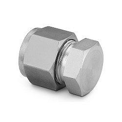 "Cap 1/8"", stainl. steel"