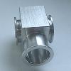 KF small Tee DN50, Aluminium