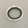 KF Trapped Cent. Ring w O-Ring Alu/Viton DN 32-40