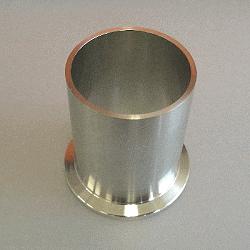 KF Tubulation DN 40, Tube OD 44,5x58mm long, 304SS