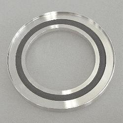 Outer Cent. Ring Al w. Inner Ring DN 50