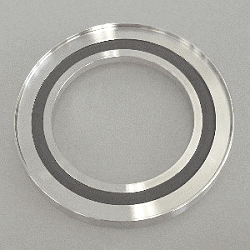 Outer Cent. Ring stainl. w. Inner Ring DN 50