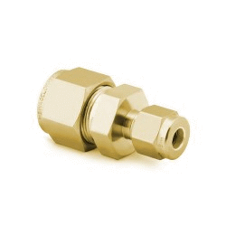 "Reducing Union 6mm - 1/8"", Brass"