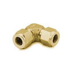 Union Elbow 6mm, Brass