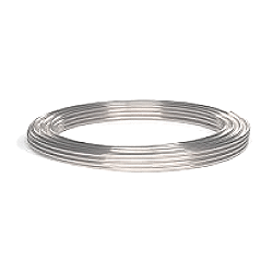 Stainl. steel tubing 5.0mm O.D. x 3.0mm I.D, 10m