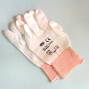 PU-coated nylon gloves, white, size 8(M), 12 pcs
