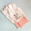 PU-coated nylon gloves, white, size 9(L), 12 pcs