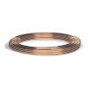 """Copper Tubing 1/4"""" O.D x 4.8mm I.D. 5 meter long"""