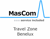 Travel cost flat rate for Benelux