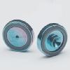 0.8mm ID Vespel ring inlet seal, Siltek® tr. 2/pk