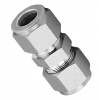 """Straight fitting, steel, 1"""" compression fitting"""