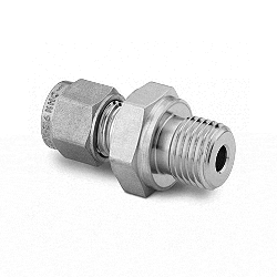 """Male Connector, 12mm tube - 3/8"""" ISO"""