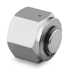 "VCR Face Seal Fitting 1/4"" Cap 316 Stainl. Steel"