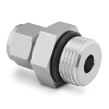 Male Connector, 1/4in. Tube OD 5/16-24 Male SAE/MS Stainl.St