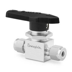 Tube Fitting 1/4inch Stainl.St. 2Way Ball Valve Swagelok®
