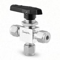 3 way ball valve Series40G 6mm Swagelok®