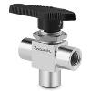 Whitey 3 way ball valve, Series 40G