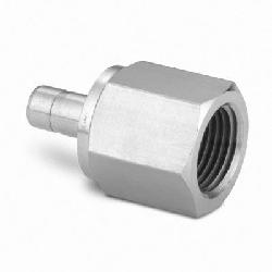 Female Adapter 6 mm Tube ODx1/4 in. Female ISO SS