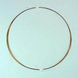 FS tubing untreated, 040/375µ, 10m, max 350°C